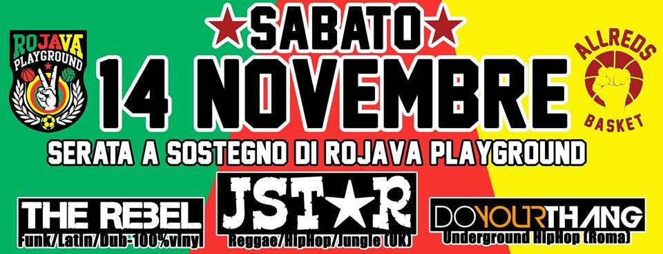 jstar  a roma il 14 novembre