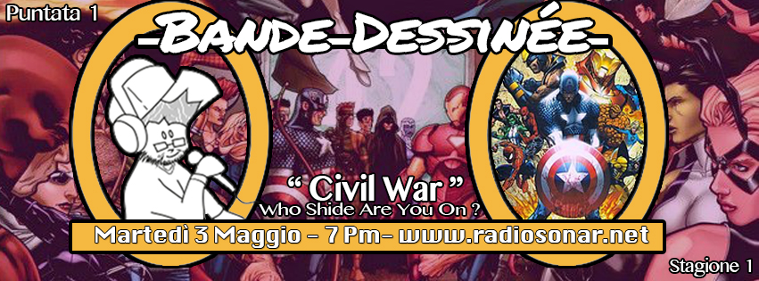 Bande Dessinée - 1.1 - Civil War