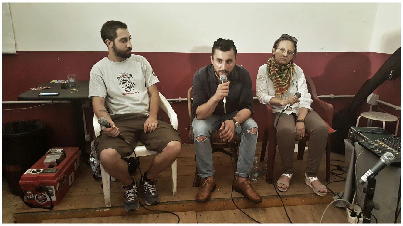 Intervista a Diyar Üren Mehrovî + live