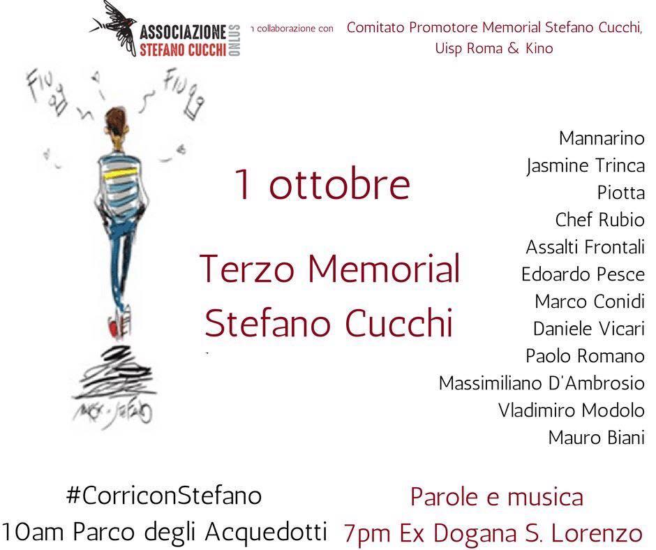 Terzo Memorial Stefano Cucchi, le interviste