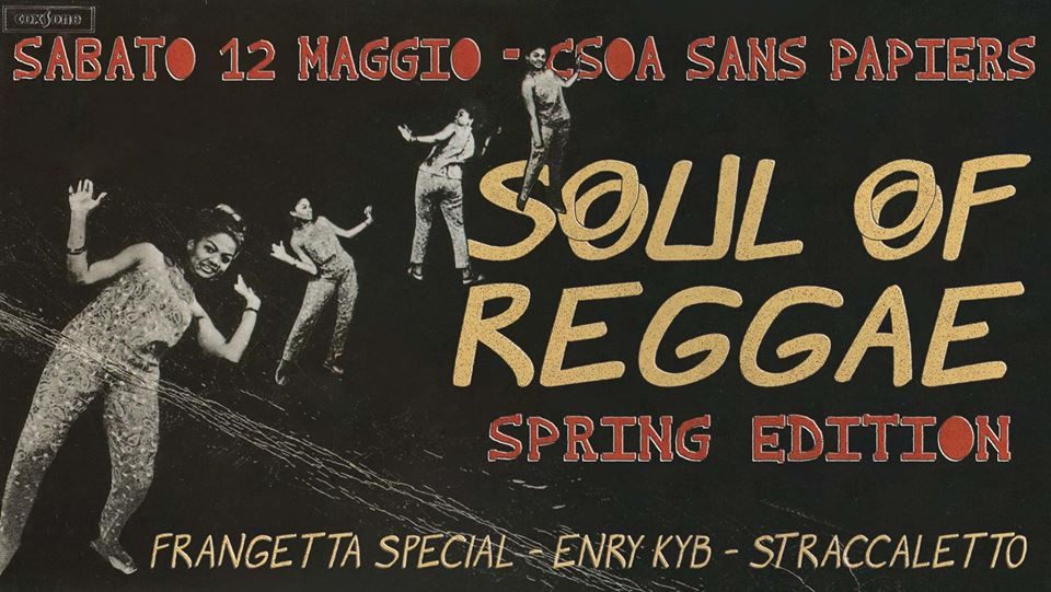 Soul of Reggae Spring Edition!