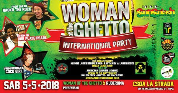 Woman Of The Ghetto International Party: live music & dj set!