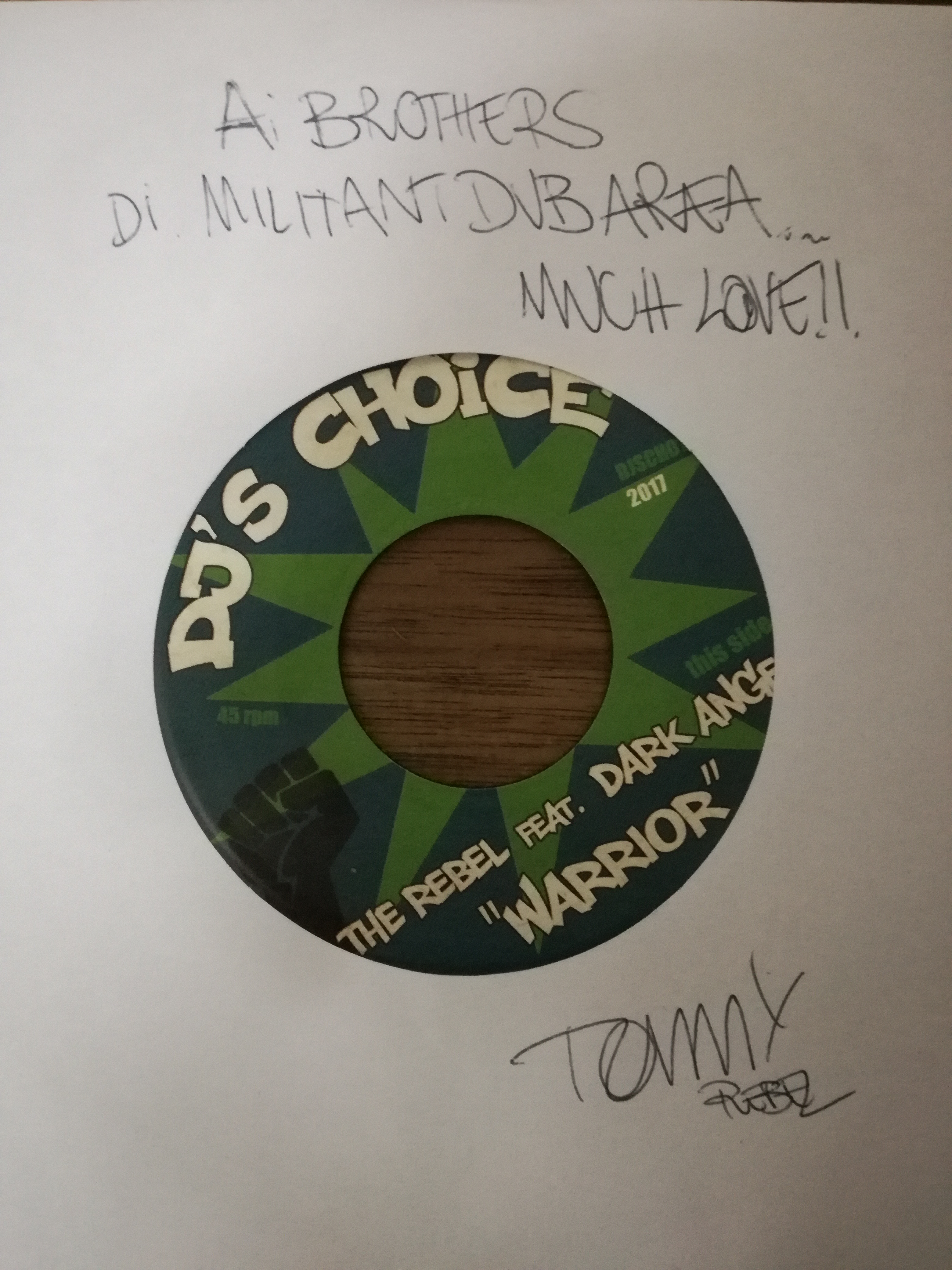 """Militant Dub Area 5.34: """" Tommy The Rebel"""""""