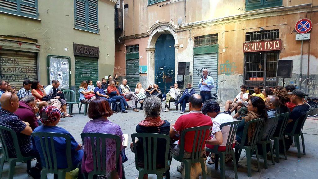 La presentazione di Gentrification a Genova