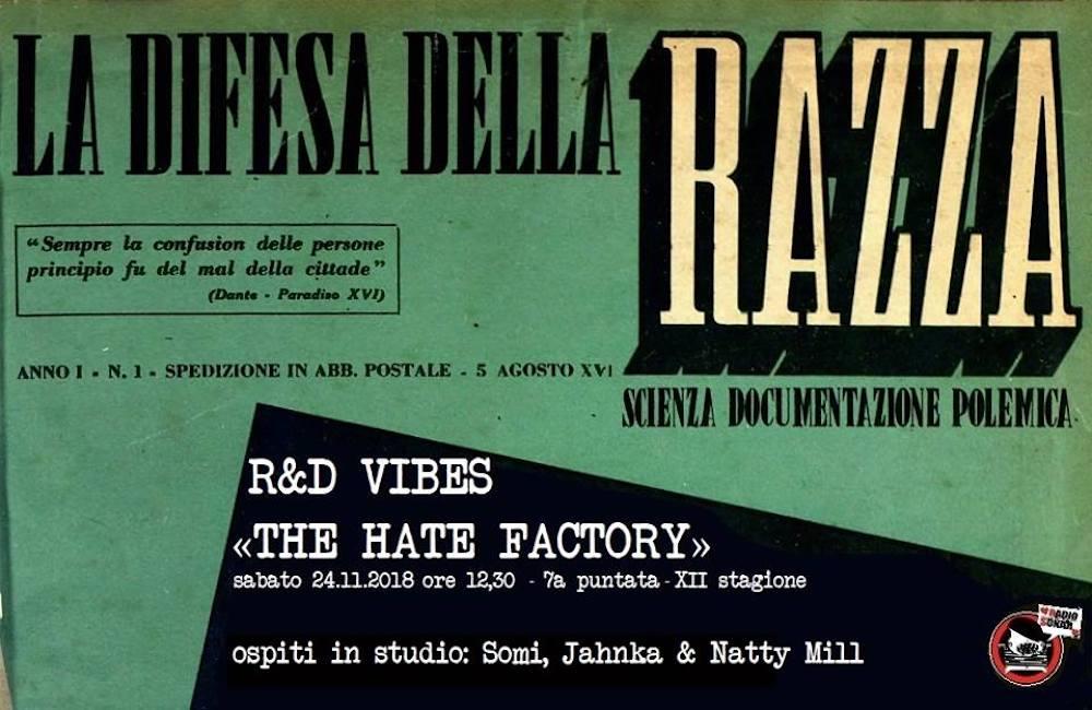 red vibes the hate factory decreto salvini immigrazione accoglienza