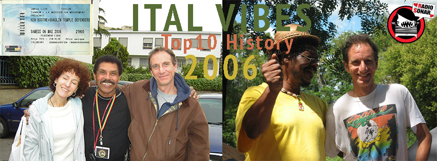 ital vibes top history 2006