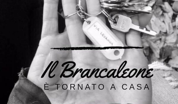 Il Brancaleone è tornato a casa