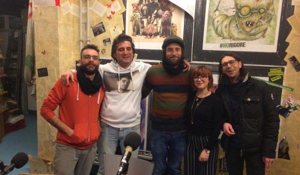 L'orso 'nnammurato – Intervista a Gnut e Alessio Sollo.