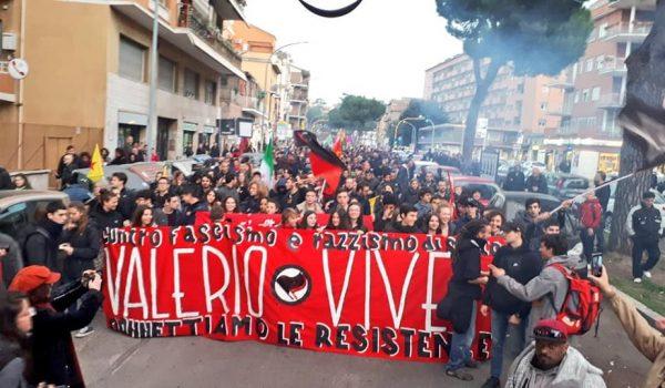22 febbraio 2019  Valerio Vive la rivolta continua!