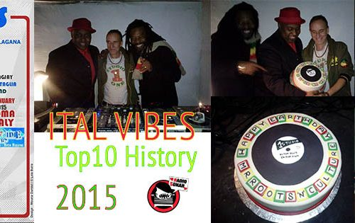 Ital Vibes Top History 3.17 – 2015