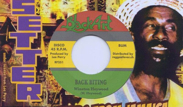 Winston Heywood & The Hombres – Back Biting (Upsetter 1976, Black Art 2018)