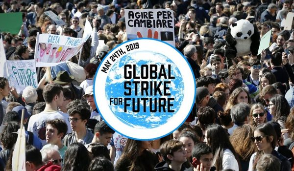 24 maggio torna il Global Strike for future