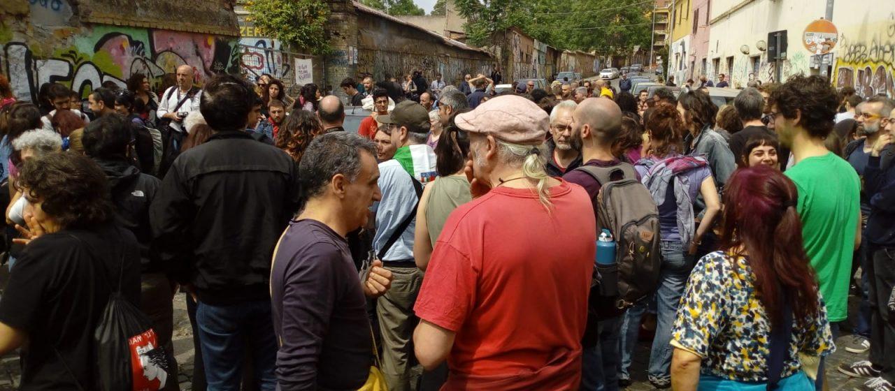 San Lorenzo è Antifascista – audio dalla piazza
