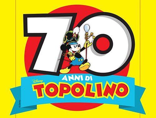 Bande Dessinée 4.21 – Topolino fa 70!