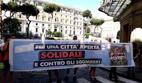 Roma Non si Chiude: conferenza stampa al Viminale