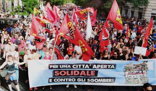 22 Giugno: Roma non si chiude!