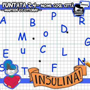 Insulina 2.4 – Nomi, Cose, Città!