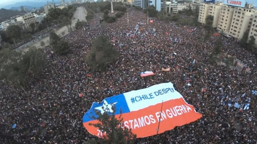 Cronache dal Cile: Fuera Pinera!