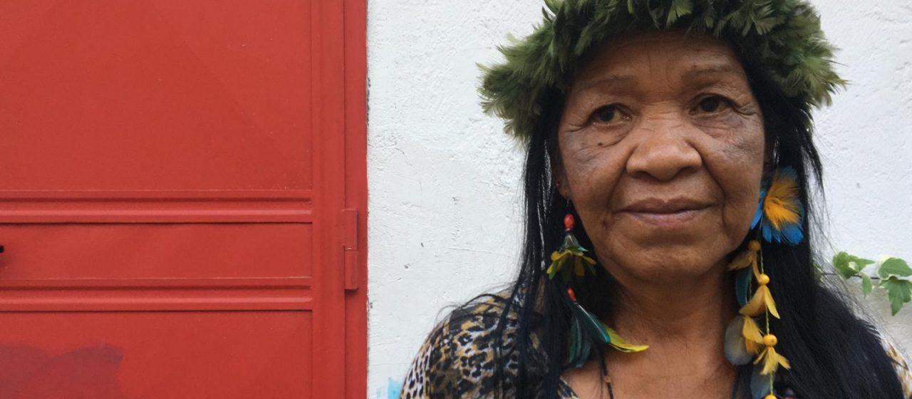 A fianco del popolo Guaranì insieme a Leila Rocha