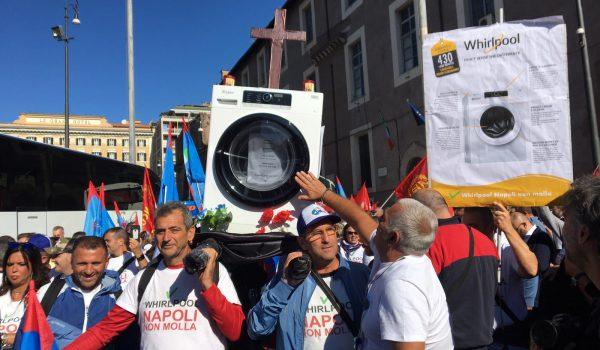 Whirlpool: No alla chiusura degli stabilimenti in Italia