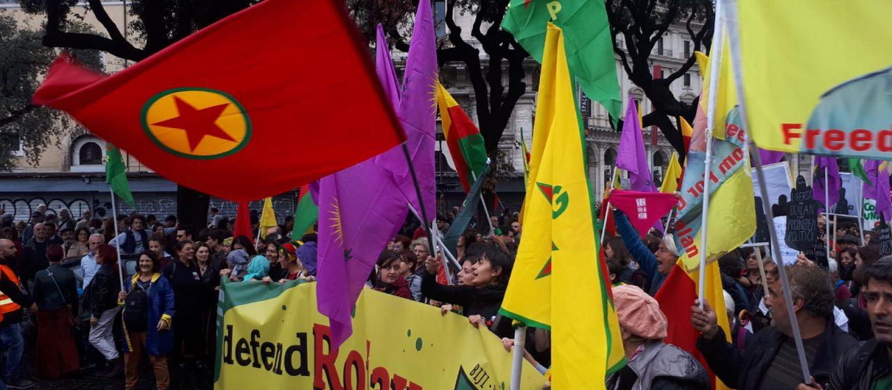 1 Nov – Corteo Nazionale: Contro la Guerra, con il Rojava