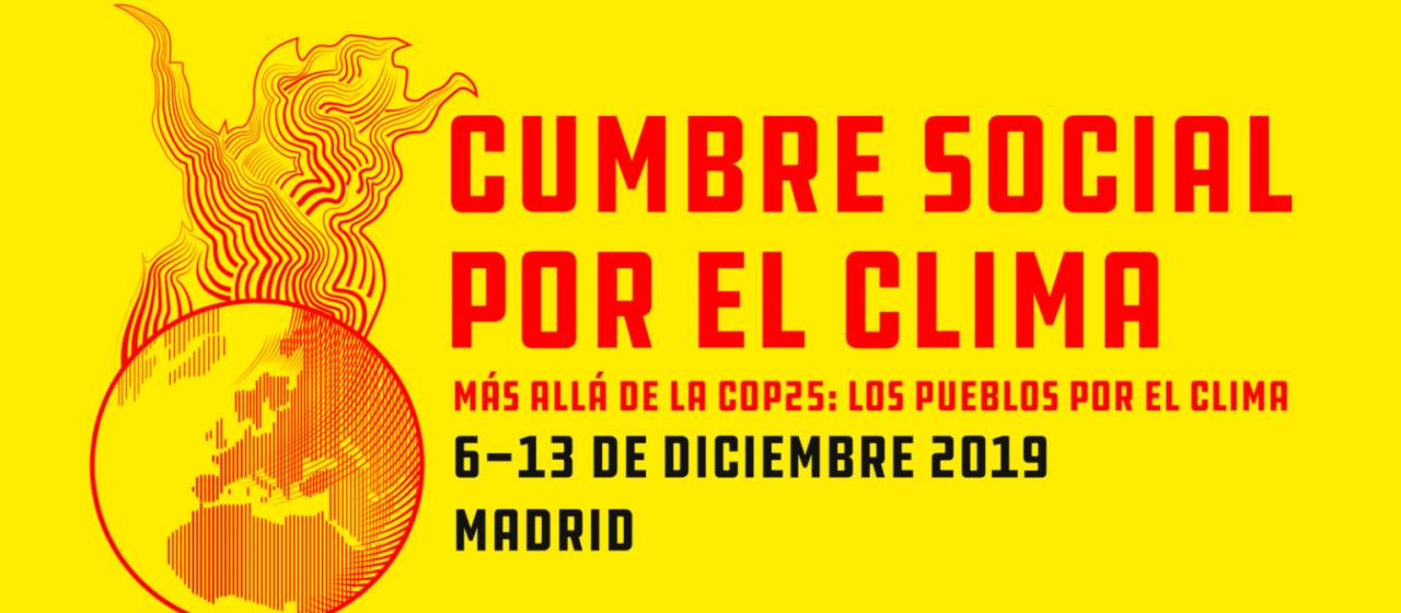 Cumbre Sociale por el Clima – Climate Social Summit