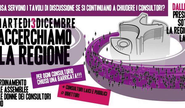 A Roma sale la protesta contro la chiusura dei consultori