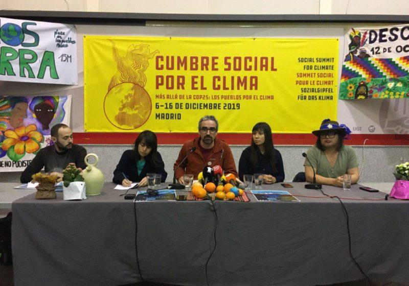 Madrid si prepara ad ospitare la Cumbre Social