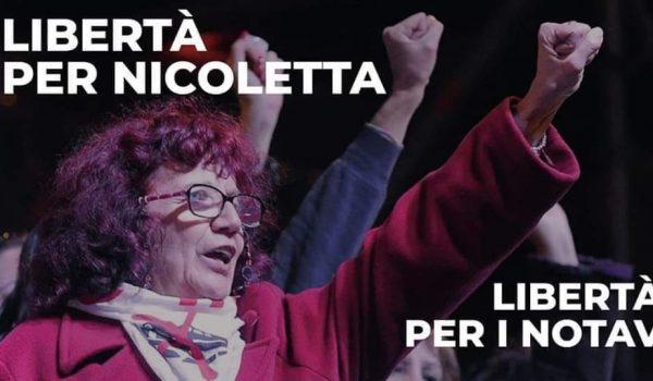 Liberà per Nicoletta Dosio, NoTav a Roma