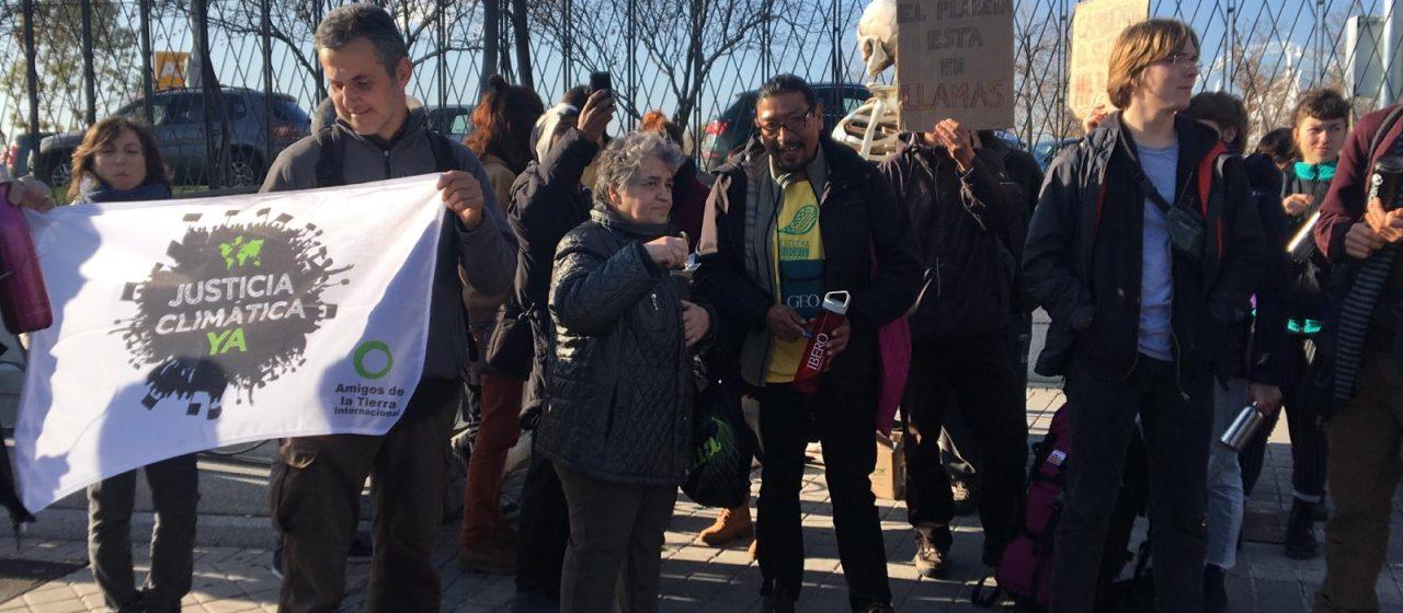 la Minga Indigena anima la Cumbre social per la Giustizia Climatica