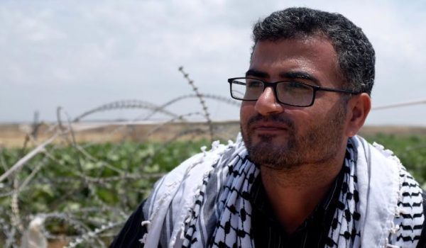 """""""Marcia del Ritorno"""": Incontro con Ahmed Abu Artema"""