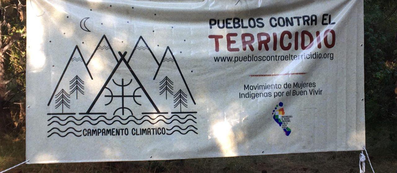 Patagonia 2020:  La prima giornata del campamento climatico