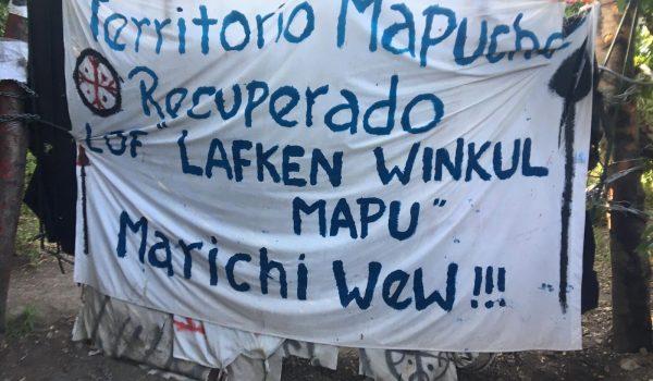 La carovana contro il terricidio arriva in Patagonia