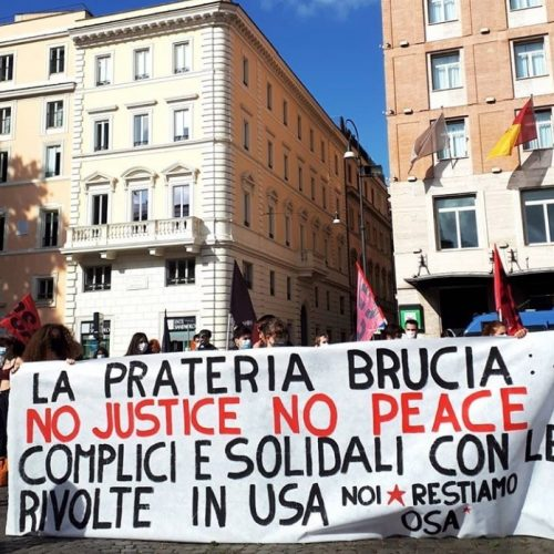 Giovani sull'orlo di una crisi 2.34 – No Justice No Peace