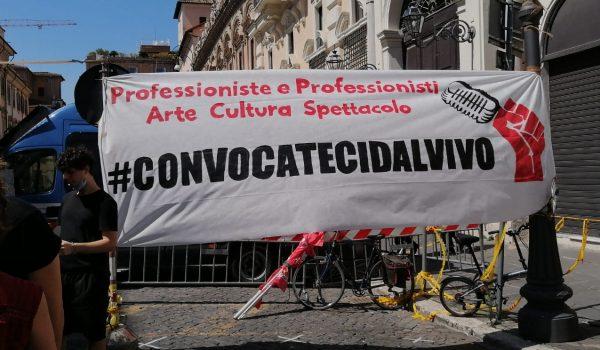 Roma: Manifestazione nazionale dello Spettacolo e della Cultura