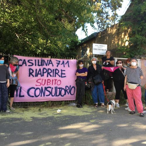 Transfemminonda 1.33 – Riaprire i consultori a Roma