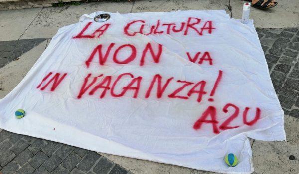 La Cultura non va in vacanza, presidio in Campidoglio