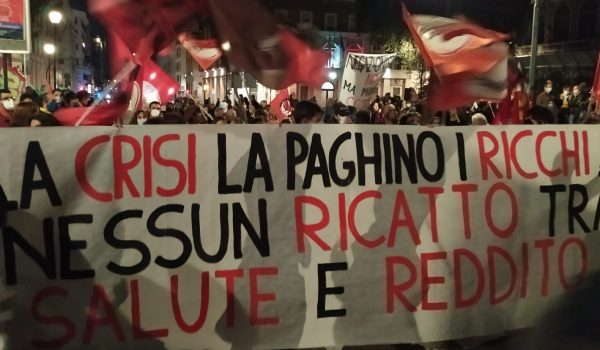 Tu ci chiudi, tu ci paghi: Corteo a Roma