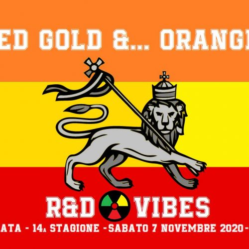 R&D Vibes 5.03 – Red Gold and… Orange