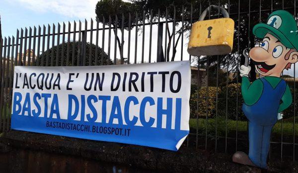 A Roma mobilitazione per lo stop ai distacchi dell'acqua