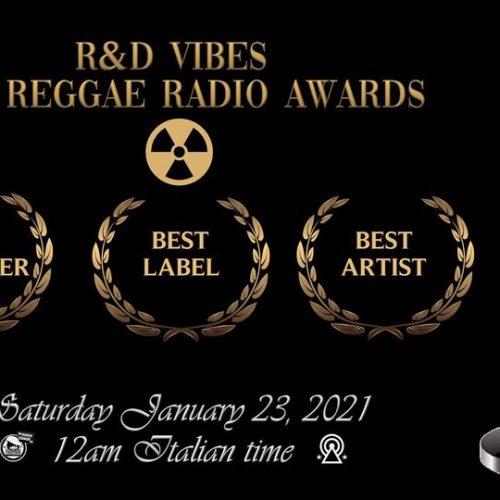 R&d Vibes 5.11 – R&D VIBES' 2020 REGGAE RADIO AWARD