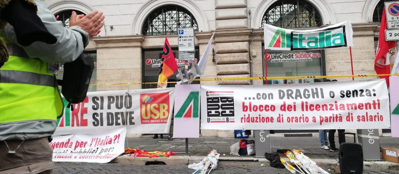 1 Maggio 2021: i lavoratori e lavoratrici a Roma in piazza