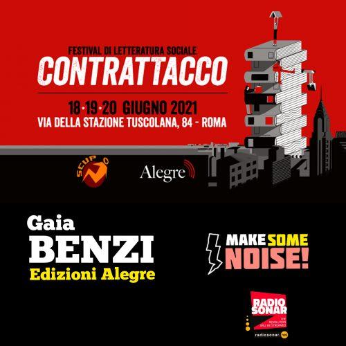 Make some noise! 1.25 – Letteratura Sociale al CONTRATTACCO!