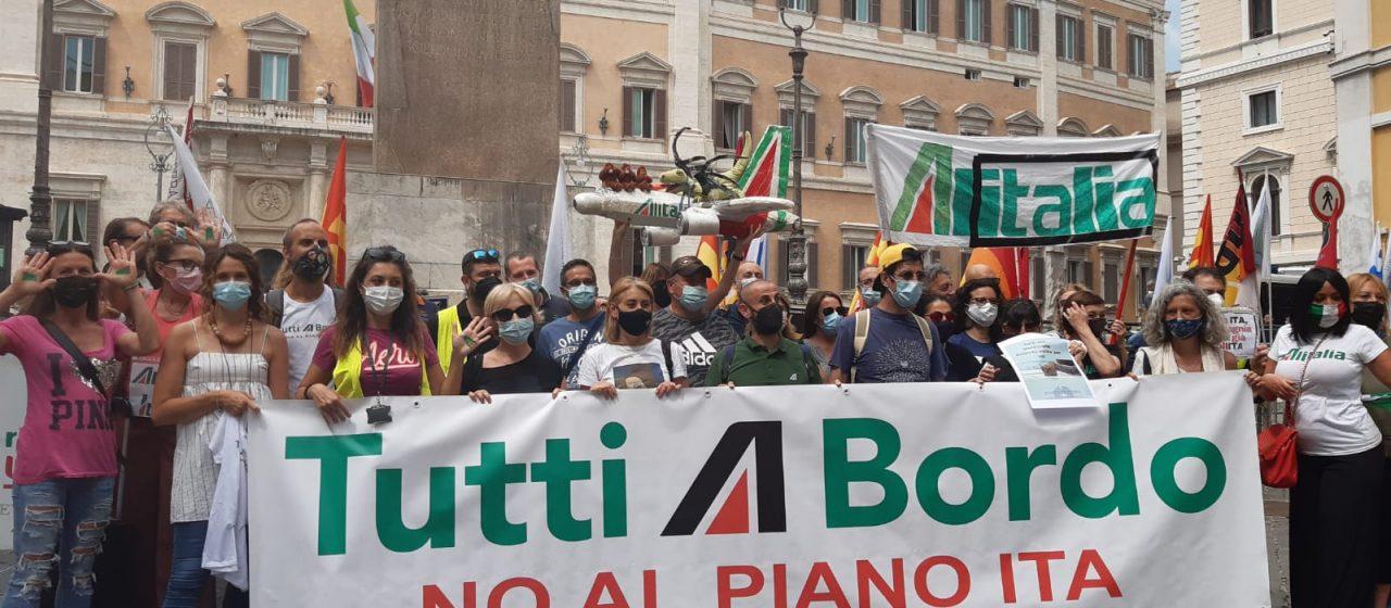 Lavoratrici e Lavoratori Alitalia contro il Piano Ita!