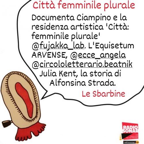 Le Sbarbine 4.1 – Città, femminile plurale