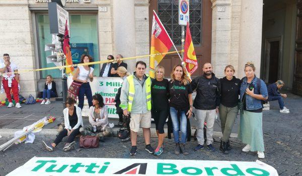 La Vertenza Alitalia non si arresta!