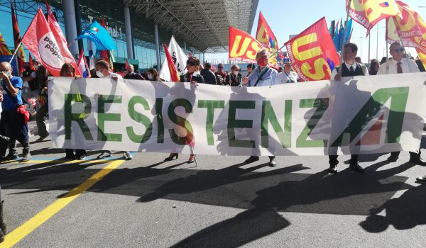 Lavotrici e lavoratori Alitalia: Resistenza!