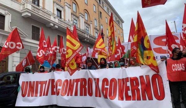 Sciopero del sindacalismo di base: Insorgiamo!